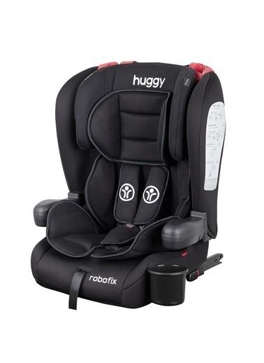 Huggy Huggy Robofix 9-36 Kg İsofixli Katlanabilir Oto Koltuğu Siyah